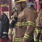 mark firefighter suit